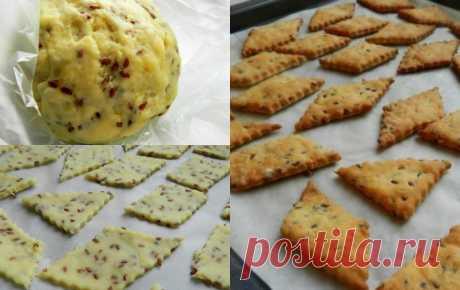 Галетное печенье с семенами льна — CookingPad