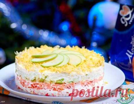 Легкий салат с крабовыми палочками – кулинарный рецепт
