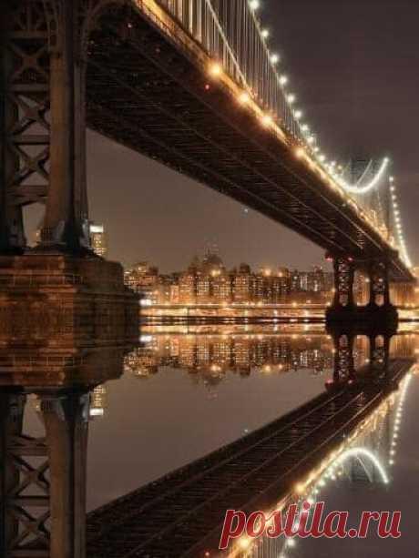 Огни Нью-Йорка.