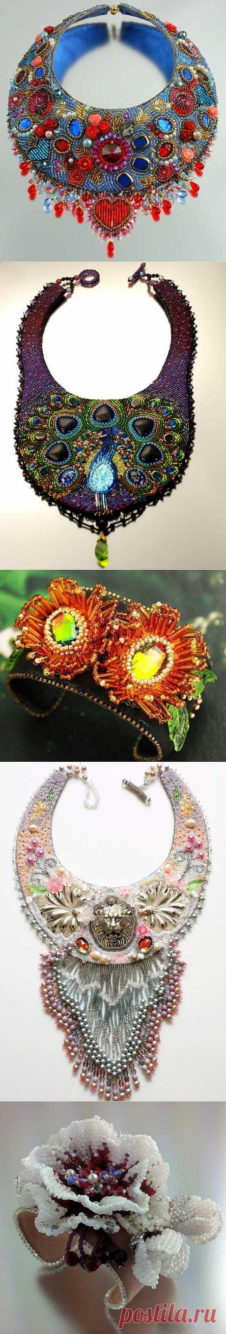 Doro Soucy Изумительные ожерелья и браслеты.