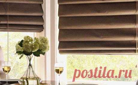 Как превратить обычные старые шторы в римские Появившись когда-то давно в Италии, эти шторы и сейчас популярны во всем мире. Узнай, как в домашних условиях сделать римские шторы.Метраж квартиры небольшой и буквально каждый сантиметр на счету? Ком...
