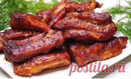 Мясо, которое готовлю вместо шашлыка на Новогодний стол Рецепт пользуется огромным успехом!