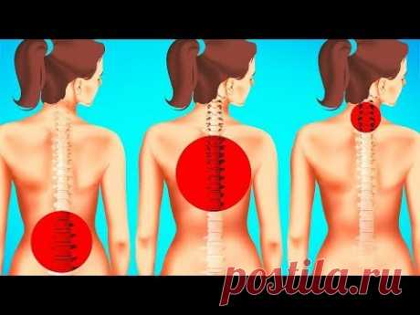 Упражнения на Растяжку Для Уменьшения Боли в Спине