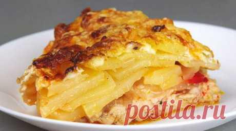 Картошечка по-королевски — Sloosh – кулинарные рецепты
