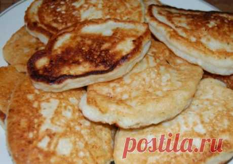 Fritters cottage cheese