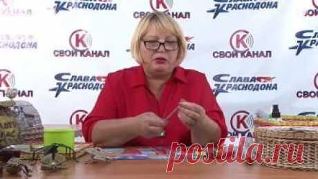 Краснодонщина мастеровая. Ирина Алышева - Плетение из бумажной лозы