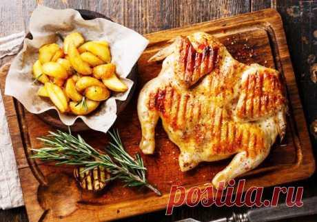 Цыпленок табака - оригинальное блюдо, которое украсит праздничный стол