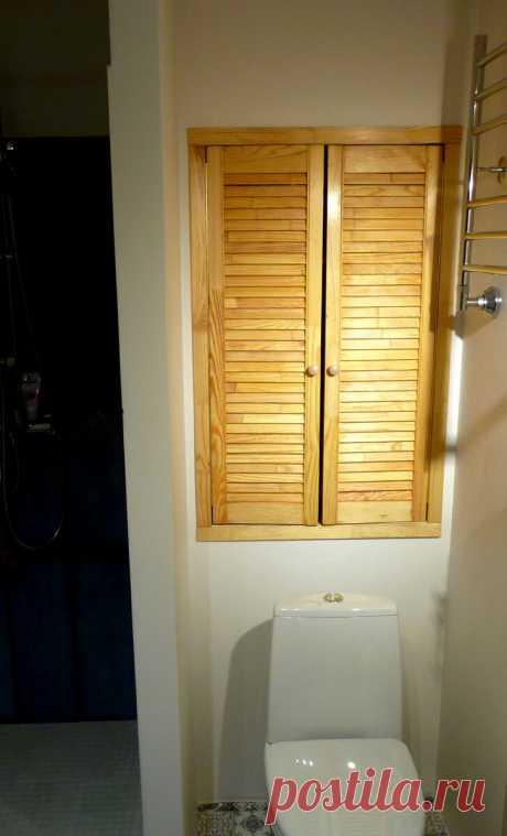 5 идей использования недорогих деревянных жалюзийных дверок | Дизайнер интерьера & Любитель | Яндекс Дзен