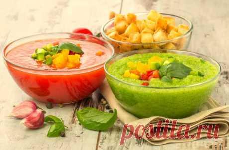 Летние холодные супы, Лучшие холодные супы Летние холодные супы – настоящее спасение. Чем полезен такой суп? Заходите и узнайте! Холодные летние супы топ 5 рецептов.