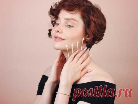 Перестала отекать, а лицо подтянулось: показываю простую технику массажа, которой поделился профи | Бьюти-общежитие | Яндекс Дзен