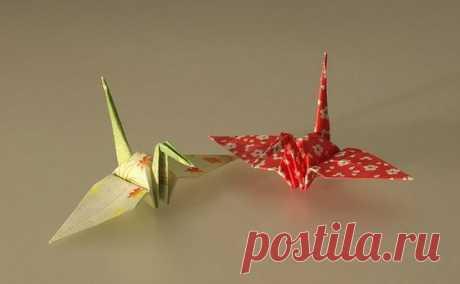 Оригами Журавль из бумаги: как сделать поэтапно по схеме для начинающих японский журавлик | Все о рукоделии