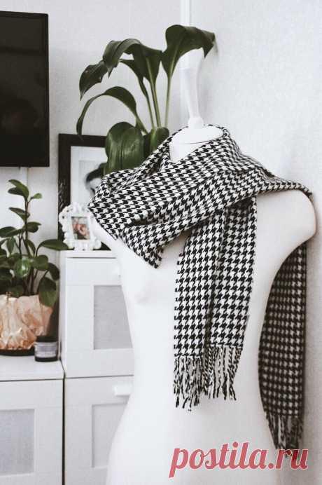 Легким движением руки превращаю шарф из секонд- хенда в модный головной убор | Sasha non stop | Яндекс Дзен