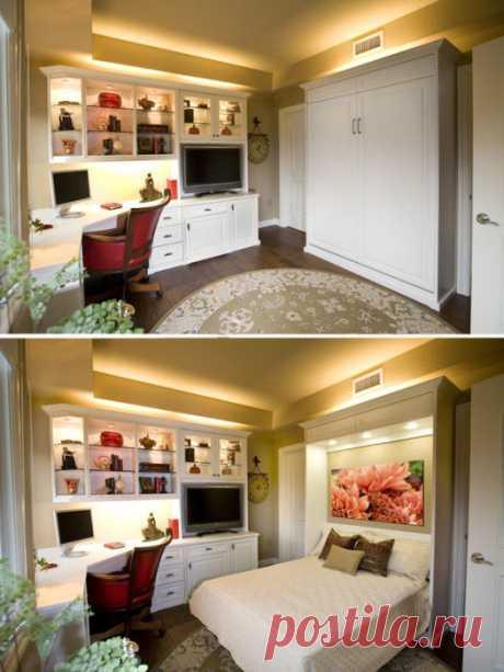 Как правильно подобрать мебель для малогабаритки — Мой дом