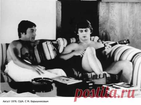 Владимир Высоцкий и Михаил Барышников