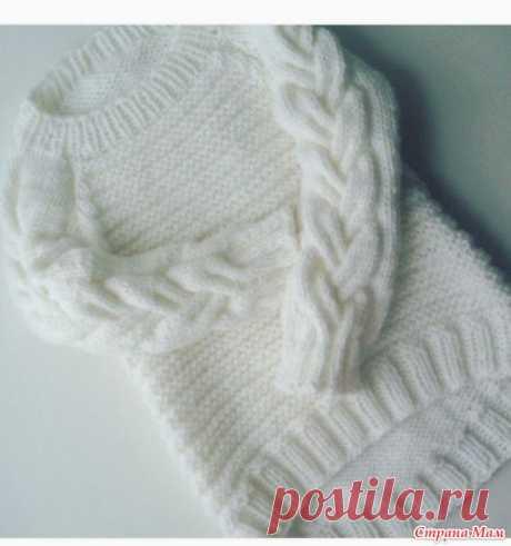 El pulóver hermoso para las muchachas, las muchachas, las mujeres))) - Tejemos juntos él-layn - el País de las Mamás