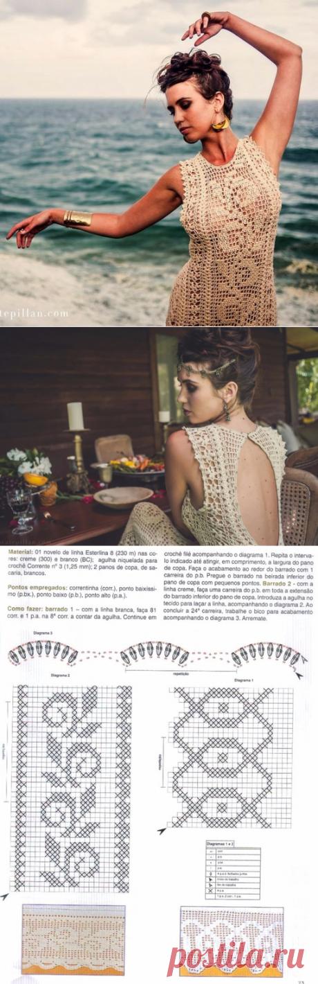 Платье от Isa Catepillán