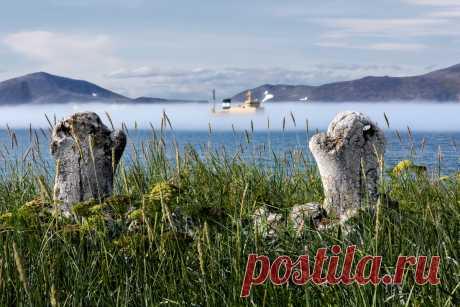 Удивительное место – Чукотский Стоунхендж – находится на острове Ыттыгран в проливе Сенявина Берингова моря. Остров знаменит Китовой аллеей — древним эскимосским сооружением из вкопанных в грунт параллельных рядов рёбер и челюстей гренландских китов. Вес одной такой челюсти гренландского кита составляет 250-300 килограмм. Понадобилось не менее 50-ти китов, а это очень много, если учесть, что сейчас обычно вылавливают 2-3 кита в год. Археологические и другие данные говорят, что наивысшего…