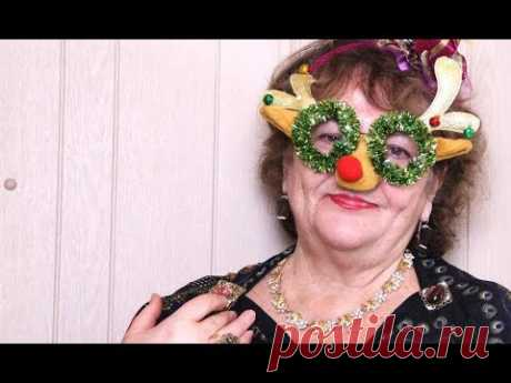 Карнавальный Костюм за 5 минут Без ниток и иголок  🎄 КАК Я  Встречаю  Новый Год в 70 лет🥂