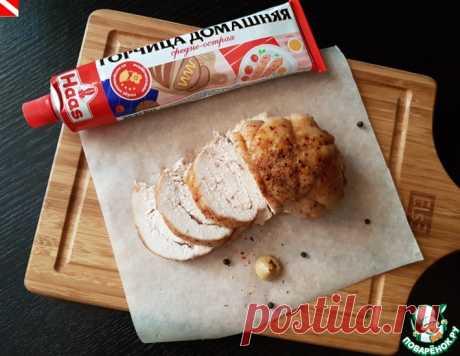 Запеченная куриная грудка с горчицей – кулинарный рецепт