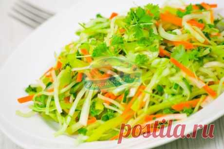 Салат из редьки. Лучшие рецепты.