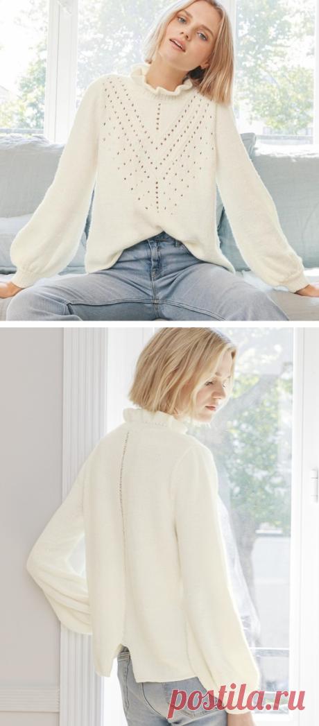 Пуловер Sandy от Phildar