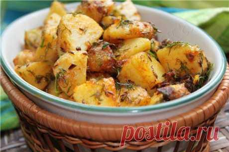 ВОТ ТАКУЮ КАРТОШКУ ЕДЯТ В ИНДИИ!...ПОПРОБУЕМ ? Картофель по - Бомбейски (индийская кухня).