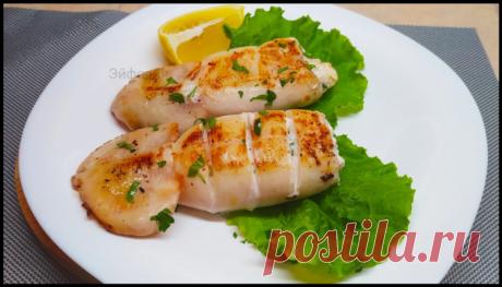 """Фаршированные кальмары """"Сливочные"""" - праздничное блюдо от которого все гости будут в восторге!"""