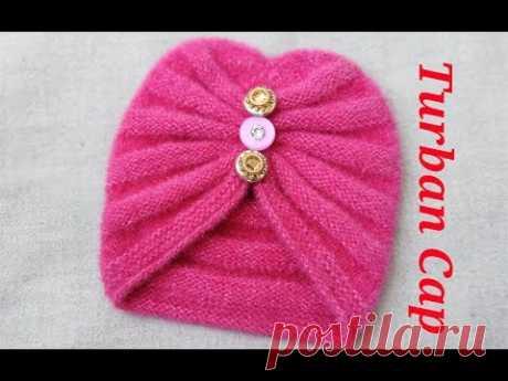 Turban cap for kids Easy way