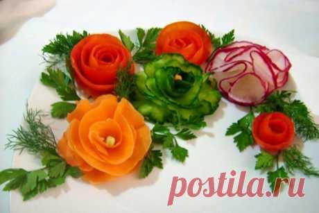 Как сделать украшения из овощей: 7 мастер-классов » Женский Мир