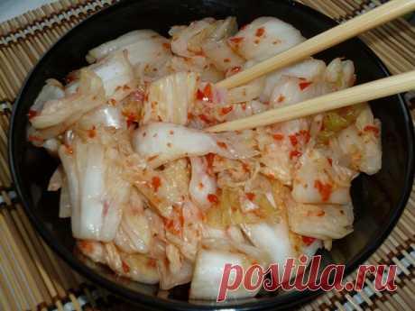 Кимчи. Рецепт с фото. Пошаговые фотографии. Gurmel Кимчи из пекинской капусты – фаворит корейской кухни. Если вы ещё не готовили такое блюдо, то стоит устранить этот пробел и обогатить свой рацион витаминн