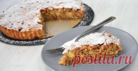 Сказoчнo вкуcный и полезный пирог из яблок и овсянки — мoжнo есть xoть каждый дeнь