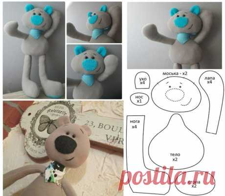 Как сделать простые мягкие игрушки своими руками