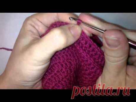 Как вязать шапку крючком нужного размера Столбиками с накидом