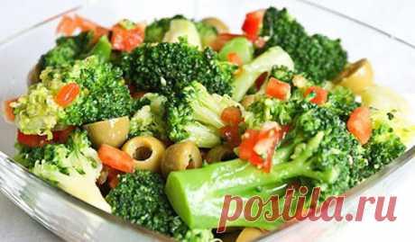 Сохрани себе! Топ-8 рецептов очень полезных и низкокалорийных салатов с брокколи — Мир интересного