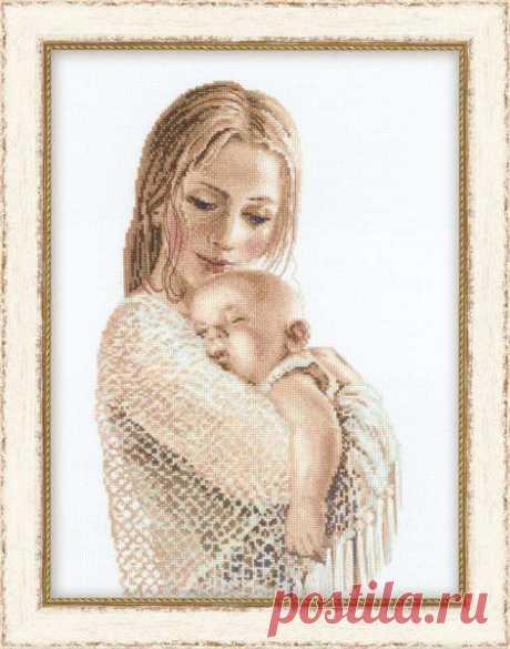вышивка крестом мать с ребенком. Вышивка крестом мать и дитя | Домоводство для всей семьи.