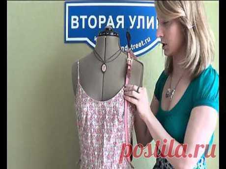 Мамино платье (мастер-класс) / Ремни / Модный сайт о стильной переделке одежды и интерьера