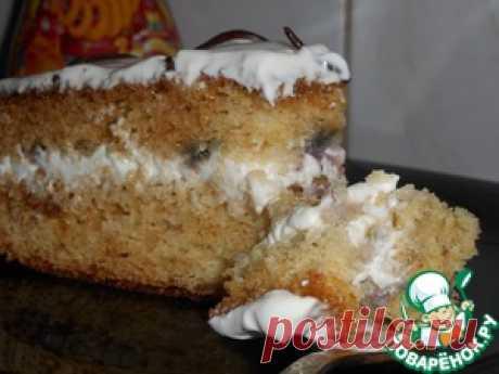 """Торт """"Капля нежности"""" - кулинарный рецепт Яйцо  — 2 шт Молоко сгущенное — 1 бан. Ванильная эссенция (или ванилином или ван сахар) — 0,5 ч. л. Сода гашеная уксусом — 1 ч. л. Мука 200 г Крем Сметана (жирная, не менее 20 %) — 400 г Сахарная пудра — 4 ст. л. Ванильная эссенция (можно заменить ванилином или ванильным сахаром) — 0,5 ч. л.  Источник: https://www.povarenok.ru/recipes/show/135304"""