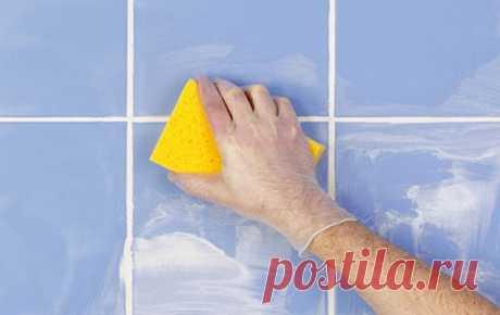 Простейший домашний рецепт для чистки швов плитки