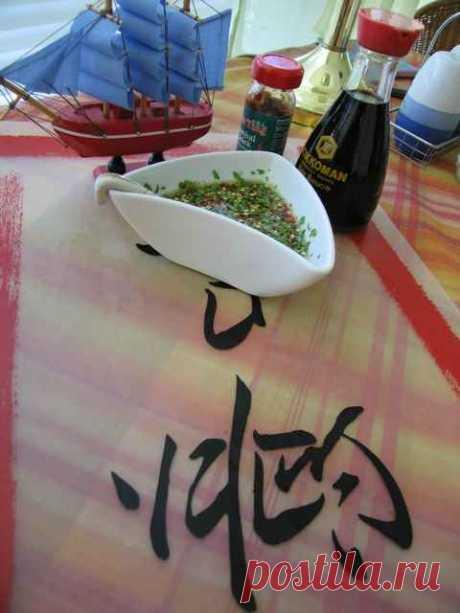 Укус дракона (китайский соус) - пошаговый рецепт с фото