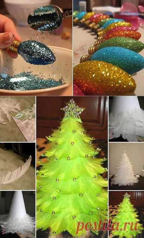 15 ideas de los juguetes del árbol de Noel por las manos.