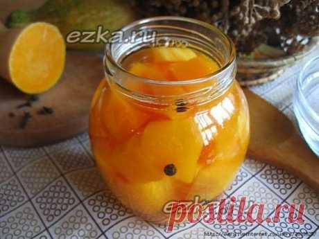 Тыква как ананас - вкус ананаса, а по виду - манго - Простые рецепты Овкусе.ру