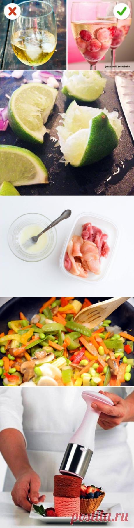 10 простых, но очень полезных кулинарных приемов, которые мы собрали для вас()