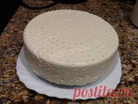 Адыгейский сыр на кефире с молоком рецепт с фото - 1000.menu
