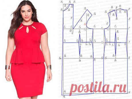 Выкройки красивых платьев для полных женщин (Шитье и крой) – Журнал Вдохновение Рукодельницы
