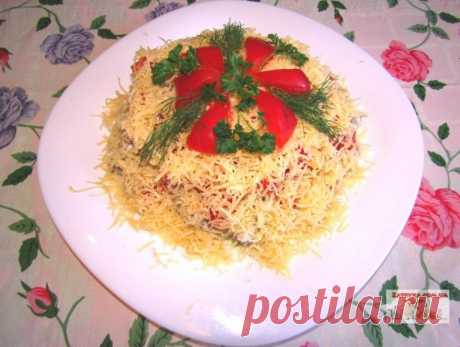 Салат «Загадка» — Кулинарная книга