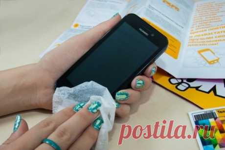 Как убрать царапины с телефона. — Полезные советы