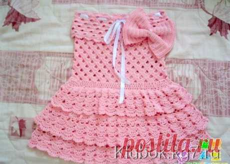 платье для девочки | Клубок