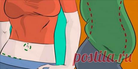 El método de la quema rápida de la grasa en la región abdominal