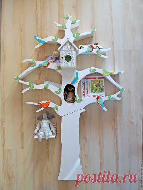 Сказочное дерево-полка 📚