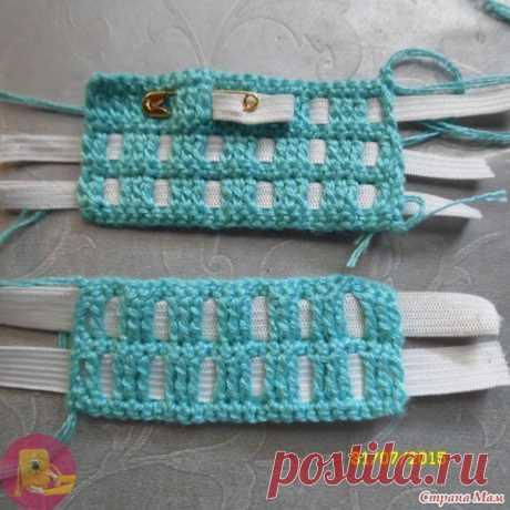 Как красиво вставить резинку в пояс вязаной юбки — Сделай сам, идеи для творчества - DIY Ideas